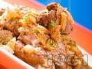 Рецепта Варени пилешки дробчета по манастирски с манатарки